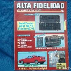 Radios antiguas: ALTA FIDELIDAD Nª 1 AÑO 1990 . Lote 121181051
