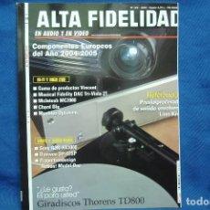 Radios antiguas: ALTA FIDELIDAD Nª 158 AÑO 2004. Lote 121181935
