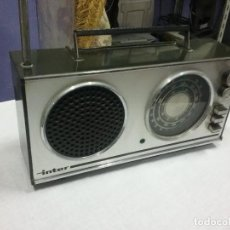 Radios antiguas: RADIO ANTIGUA VINTAGE INTER RADIO TRANSISTOR INTER. RADIO INTER NIZA II FM. Lote 121190779
