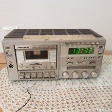 Radios antiguas: RADIO CASETE- DESPERTADOR- UNIVERSUM. Lote 121242294
