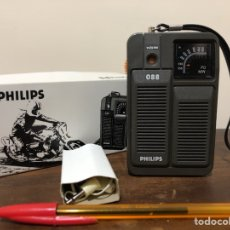 Radios antiguas: RADIO TRANSISTOR PHILIPS 90AL088, VINTAGE. Lote 121680052