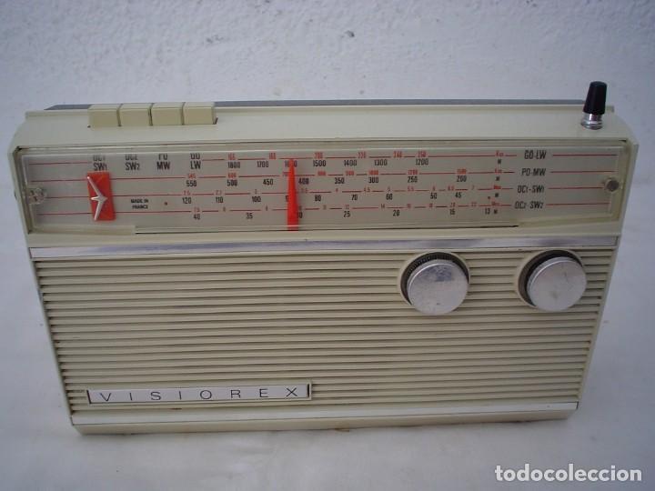 RADIO MULTIBANDAS VISIOREX (Radios, Gramófonos, Grabadoras y Otros - Transistores, Pick-ups y Otros)