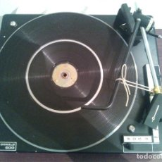 Radios antiguas: TOCADISCOS BSR MC DONALD 600. MECANISMO KIT DE FABRICA NO USADO.. Lote 121835515