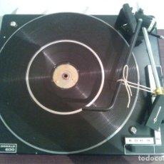 Radios antiguas: TOCADISCOS BSR MC DONALD 600. MECANISMO KIT DE FABRICA NO USADO.. Lote 121835799