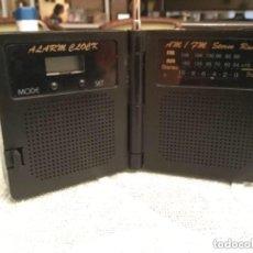 Radios antiguas: RADIO TRANSISTOR STEREO AM/FM ALARMA Y RELOJ. Lote 122149523