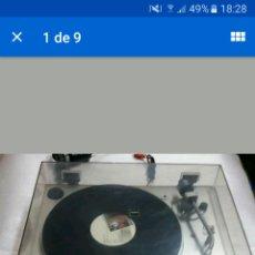 Radios antiguas: TICADISCOS VINTAGE SONY PS- X35.PERFECTO!!!. Lote 122800386