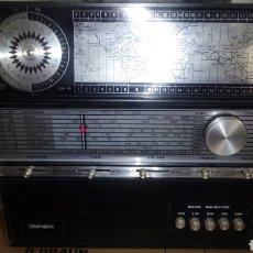 Radios antiguas: RADIO MULTIBANDA COMMANDER,(FUNCIONA). Lote 122901643