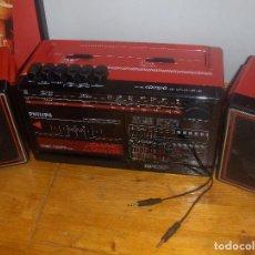 Radios antiguas: PHILIPS CUBIC COMPO, RADIO CASETTE.. Lote 122991099
