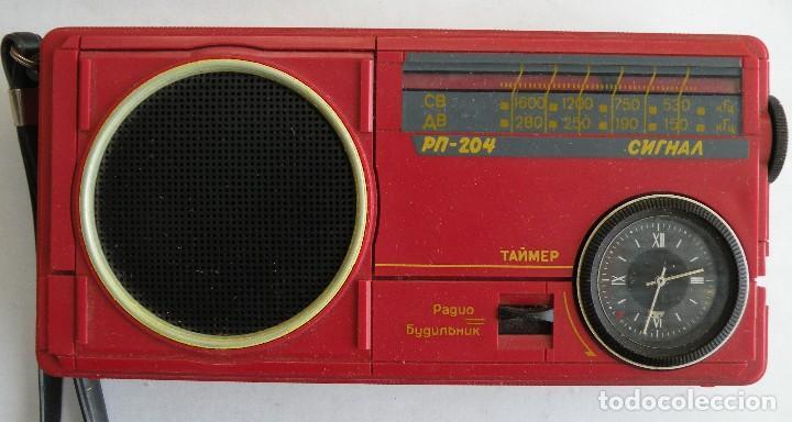 RADIO SIGNAL FABRICADO EN LA URSS (Radios, Gramófonos, Grabadoras y Otros - Transistores, Pick-ups y Otros)