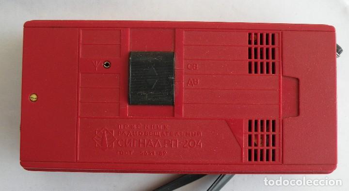 Radios antiguas: Radio SIGNAL fabricado en la URSS - Foto 2 - 123416751
