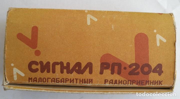 Radios antiguas: Radio SIGNAL fabricado en la URSS - Foto 5 - 123416751