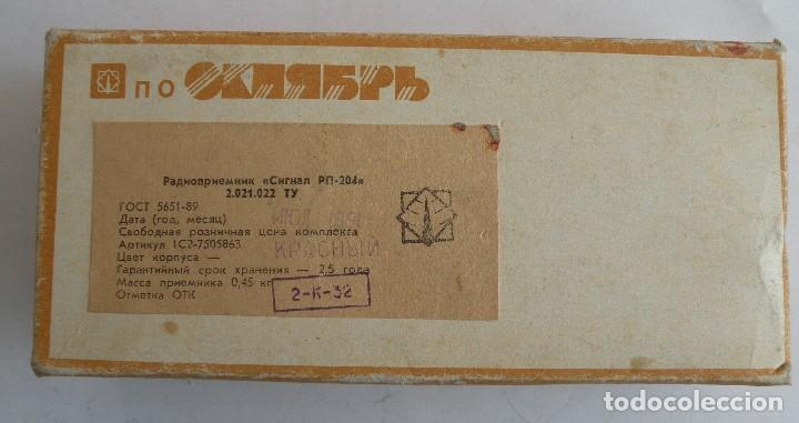 Radios antiguas: Radio SIGNAL fabricado en la URSS - Foto 6 - 123416751