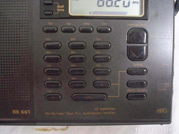 Radios antiguas: RADIO MULTIBANDAS SIEMENS RK 661 - Foto 2 - 123536455