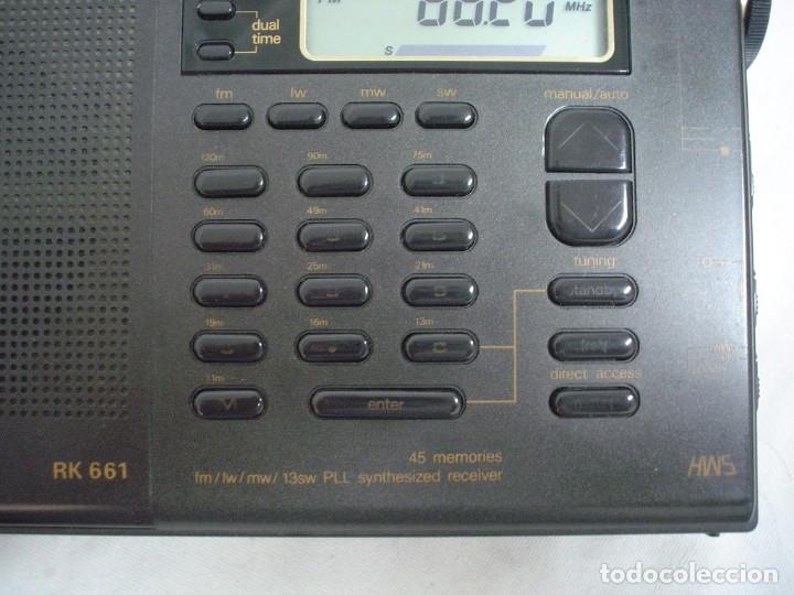 Radios antiguas: RADIO MULTIBANDAS SIEMENS RK 661 - Foto 4 - 123536455