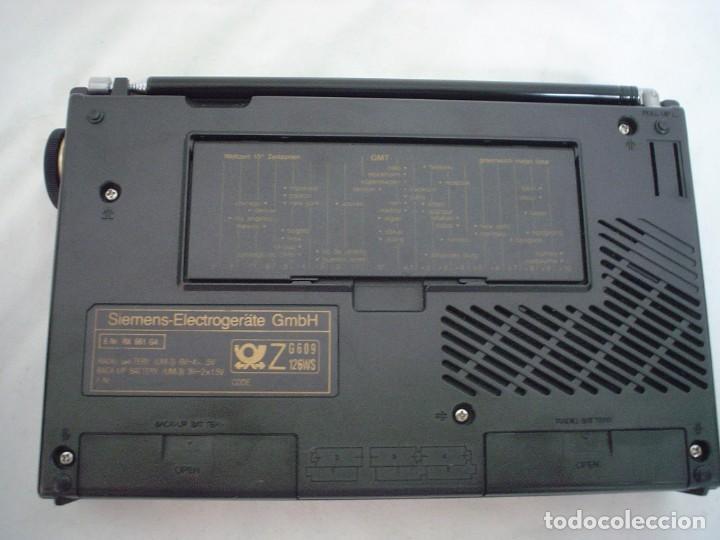 Radios antiguas: RADIO MULTIBANDAS SIEMENS RK 661 - Foto 10 - 123536455