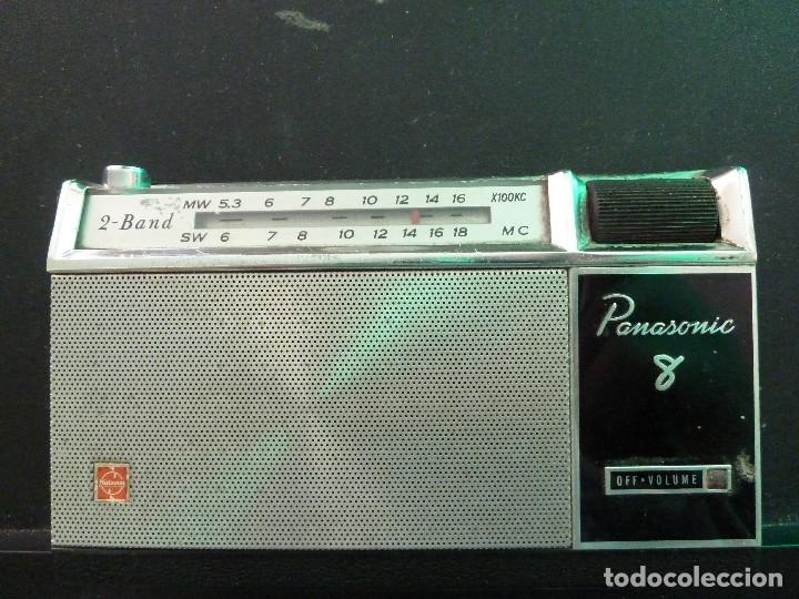 RADIO TRANSISTOR PANASONIC (Radios, Gramófonos, Grabadoras y Otros - Transistores, Pick-ups y Otros)