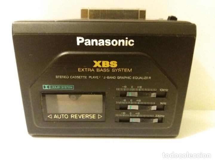 Walkman panasonic rq-p 155 segunda mano