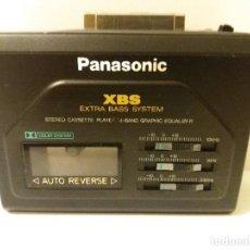Radios antiguas: WALKMAN PANASONIC RQ-P 155 DOLBY 1989 PROPIO. Lote 123546019