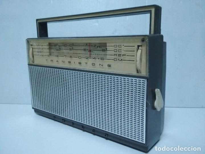 ANTIGUO TRANSISTOR PHILCO TRANSISTONE - AÑO 1958 - FUNCIONANDO (Radios, Gramófonos, Grabadoras y Otros - Transistores, Pick-ups y Otros)