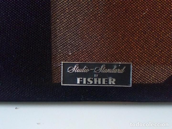 Radios antiguas: Pareja de altavoces Fisher 70W - Foto 6 - 124033887