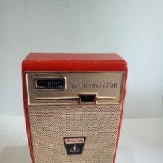 Radios antiguas: TRANSISTOR WILCO AÑOS 60. Lote 124396491
