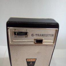 Radios antiguas: TRANSISTOR WILCO AÑOS 60. Lote 124396691