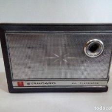Radios antiguas: TRANSISTOR STANDARD AÑOS 60. Lote 124397047