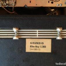 Radios antiguas: RADIO ANTIGUA GRUNDIG ELITE -BOY. Lote 124524379