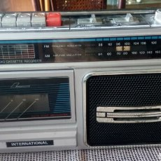 Radios antiguas: RADIO CASSETE INTERNATIONAL. Lote 125306927