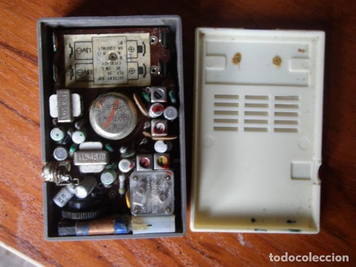 Radios antiguas: RADIO 6 TRANSISTORES AIWA AR-666 FUNCIONANDO - Foto 5 - 125320963