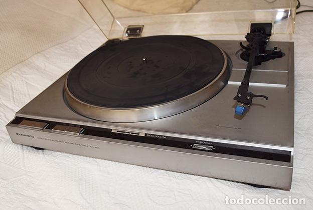 KENWOOD KD-40R · TOCADISCOS FUNCIONANDO PERFECTAMENTE - TURNTABLE - TOURNE-DISQUE - PLATTENSPIELER (Radios, Gramófonos, Grabadoras y Otros - Transistores, Pick-ups y Otros)