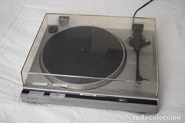 Radios antiguas: Kenwood KD-40R · Tocadiscos funcionando perfectamente - Turntable - Tourne-disque - Plattenspieler - Foto 3 - 125348035