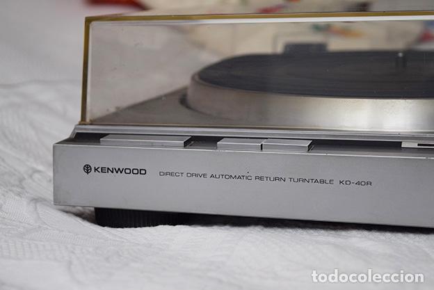 Radios antiguas: Kenwood KD-40R · Tocadiscos funcionando perfectamente - Turntable - Tourne-disque - Plattenspieler - Foto 5 - 125348035