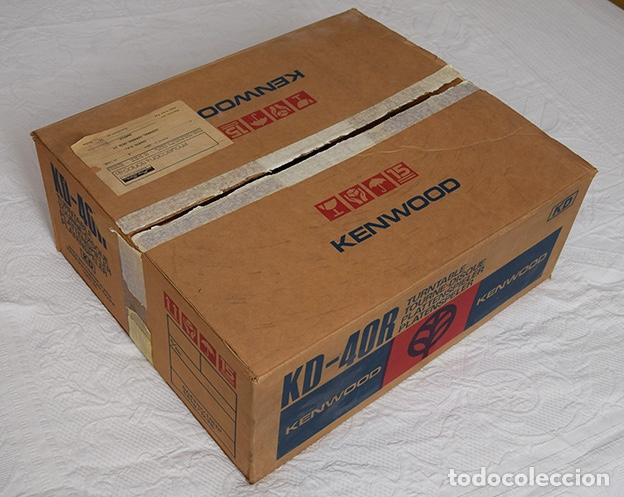 Radios antiguas: Kenwood KD-40R · Tocadiscos funcionando perfectamente - Turntable - Tourne-disque - Plattenspieler - Foto 10 - 125348035