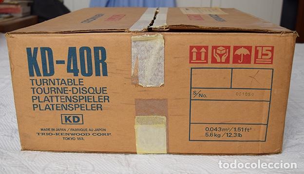 Radios antiguas: Kenwood KD-40R · Tocadiscos funcionando perfectamente - Turntable - Tourne-disque - Plattenspieler - Foto 11 - 125348035