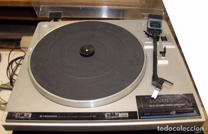 PLATO TOCADISCOS PIONEER PL-110Z (Radios, Gramófonos, Grabadoras y Otros - Transistores, Pick-ups y Otros)