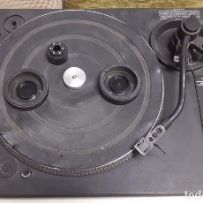 Radios antiguas: PLATO TOCADISCOS NUMARK PPD TT2400 DIRECT DRIVE TURNTABLE SYSTEM. Lote 123572891