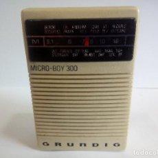 Radios antiguas: TRANSISTOR GRUNDIG MICRO-BOY 300. Lote 125421207