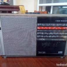 Radios antiguas: RADIO ITT MODELO TINY 320. Lote 125808695