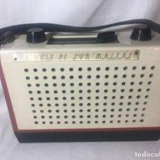 Radios antiguas: RARA RADIO TRANSISTOR LA LA VOZ DE SU AMO LE VOIX DE SU MAITRE. Lote 125821091