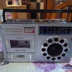 Radios antiguas: RADIO CASSETTE INTERNATIONAL. Lote 125880071