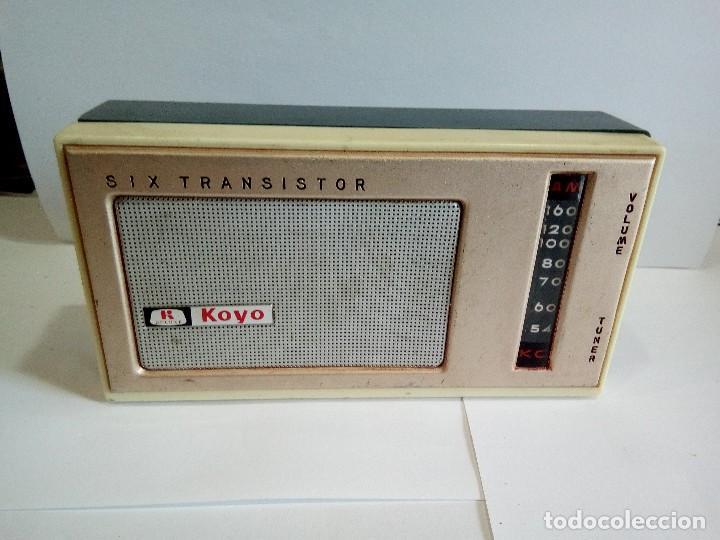 TRANSISTOR KOYO DE LUXE (Radios, Gramófonos, Grabadoras y Otros - Transistores, Pick-ups y Otros)
