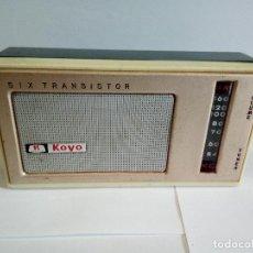 Radios antiguas: TRANSISTOR KOYO DE LUXE. Lote 126537603