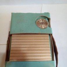 Radios antiguas: TRANSISTOR GENERAL ELECTRIC CON SU FUNDA ORIGINAL . Lote 126542067