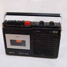Radios antiguas: CASETTE CORDER SONY VINTAGE. Lote 127467523