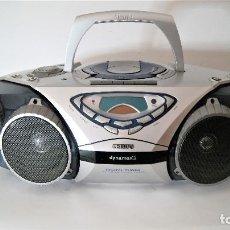 Radios antiguas: RADIO CASSETTE CD PHILIPS DYNAMAX2. Lote 127518299