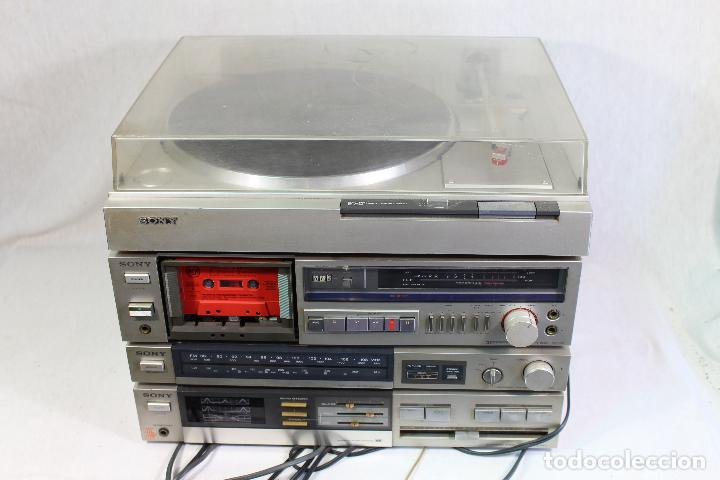 VINTAGE TOCADISCOS EQUIPO SONY (Radios, Gramófonos, Grabadoras y Otros - Transistores, Pick-ups y Otros)