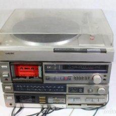 Radios antiguas: VINTAGE TOCADISCOS EQUIPO SONY. Lote 127601275