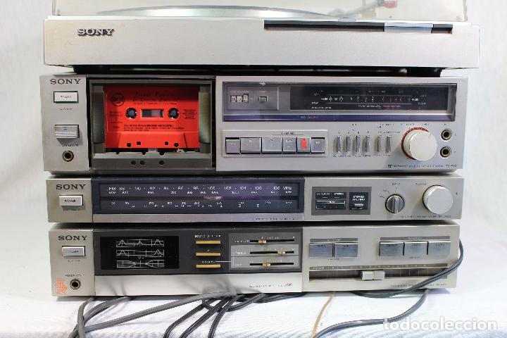 Radios antiguas: vintage tocadiscos equipo sony - Foto 4 - 127601275