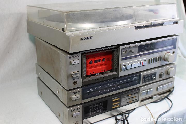 Radios antiguas: vintage tocadiscos equipo sony - Foto 5 - 127601275